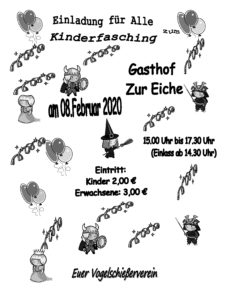 Kinderfasching @ Gasthof zur Eiche